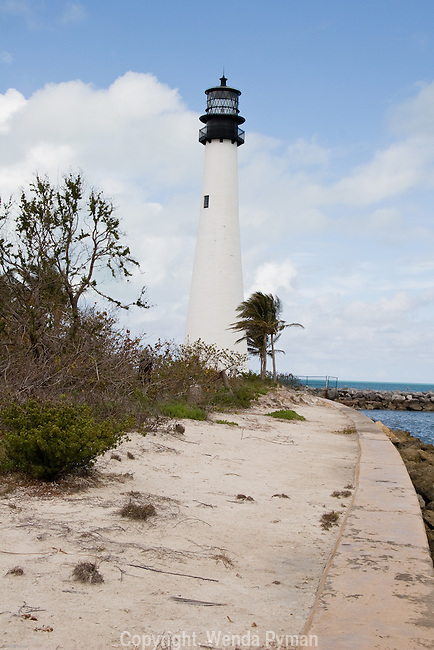 This lighthouse, built in 1825 is the oldest standing structure in Miami-Dade County.