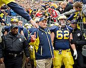 University of Michigan football 21-10 loss to Ohio State University at Michigan Stadium on 11/21/09.