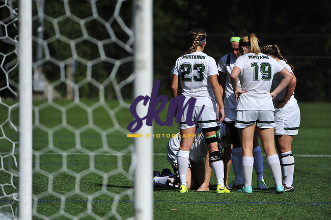 Stevenson University women's soccer opened the season at home with a 6-0 win over Eastern Mennonite Friday afternoon at Mustang Stadium in Owings Mills.