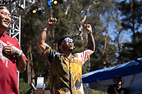 SAN FRANCISCO, CALIFORNIA - AUGUST 11: Anderson .Paak during the 2019 Outside Lands Music And Arts Festival at Golden Gate Park on August 11, 2019 in San Francisco, California. Photo: Alison Brown/imageSPACE/MediaPunch
