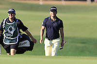 Pelle Edberg (SWE) at the 7th green during Thursday's Round 1 of the 2016 Portugal Masters held at the Oceanico Victoria Golf Course, Vilamoura, Algarve, Portugal. 19th October 2016.<br /> Picture: Eoin Clarke | Golffile<br /> <br /> <br /> All photos usage must carry mandatory copyright credit (&copy; Golffile | Eoin Clarke)