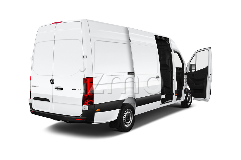 Car images close up view of a 2019 Mercedes Benz Sprinter Cargo Van Base 4 Door Cargo Van doors