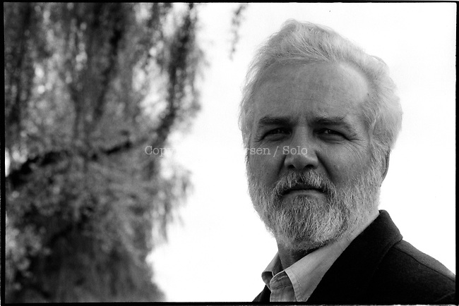 Russell Banks in april 1991. Russell Banks, American writer in 1991.