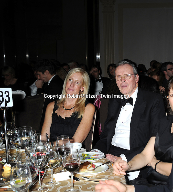 Jennet Conant and Donald Marron..at The 2008 National Book Awards Dinner and Ceremony on November 19, 2008 at Cipriani's Wall Street in New York City. ....Robin Platzer, Twin Images