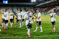Cracovia (Polonia) 30-06-2017 Calciofinale Europeo Under 21 Polonia 2017 / Germania - Spagna / foto NewsPix/Image Sport/Insidefoto<br /> nella foto: esultanza a fine gara Germania<br /> ITALY ONLY