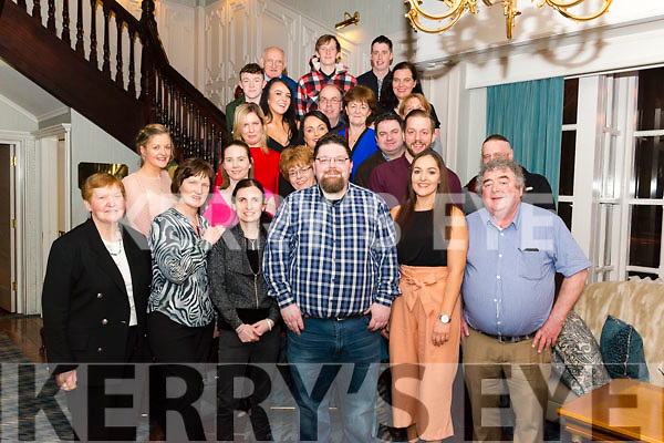Garry Haydan from Lissivigeen celebrated his 30th birthday surrounded by friends and family in the Avenue Hotel, Killarney last Saturday night.