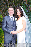 Alice Moriarty, Tralee, daughter of Freddy and Abbie Moriarty and Billy Sheehy, Tralee son of John and Bridie Sheehy were married at St. Johns church Tralee on Saturday 23th August with a reception at the Meadowlands hotel