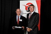 Service to Sport  recipient Alan Chester with John Walker. Counties Manukau Sport 17th annual Sporting Excellence Awards held at the Telstra Clear Pacific Events Centre, Manukau City, on November 27th 2008.