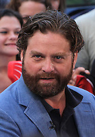 NEW YORK CITY,NY- JULY 25, 2012: Zach Galifianakis seen at Good Morning America Studios in New York City. July 25, 2012. © RW/MediaPunch Inc. /NortePhoto.com<br />