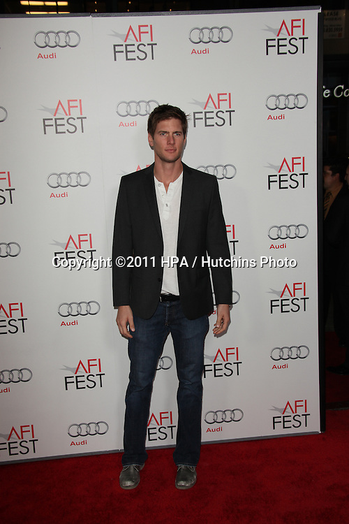 "LOS ANGELES - NOV 3:  Ryan McPartlin arrives at the AFI FEST 2011 Presented By Audi - ""J. Edgar"" Opening Night Gala at Grauman's Chinese Theater on November 3, 2011 in Los Angeles, CA"