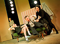 Catherine Malone,Leah Muller,Stephen Boxer,Yolander Vasquez in Six Characters In Search Of An Author by Luigi Pirandello opens at the Young Vic Theatre on 15/2/01  pic Geraint Lewis