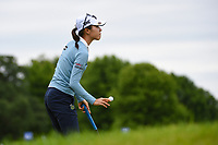 Lydia Ko (NZL) after sinking her putt on 1 during the round 3 of the KPMG Women's PGA Championship, Hazeltine National, Chaska, Minnesota, USA. 6/22/2019.<br /> Picture: Golffile | Ken Murray<br /> <br /> <br /> All photo usage must carry mandatory copyright credit (© Golffile | Ken Murray)