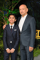"Neel Sethi & Ben Kingsley<br /> European premiere of ""The Jungle Book"" <br /> BFI IMAX, London"