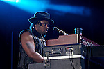 D'Angelo (real name Michael Archer) performs at the 2012 Essence Music Festival on July 6, 2012 in New Orleans, Louisiana at the Louisiana Superdome.