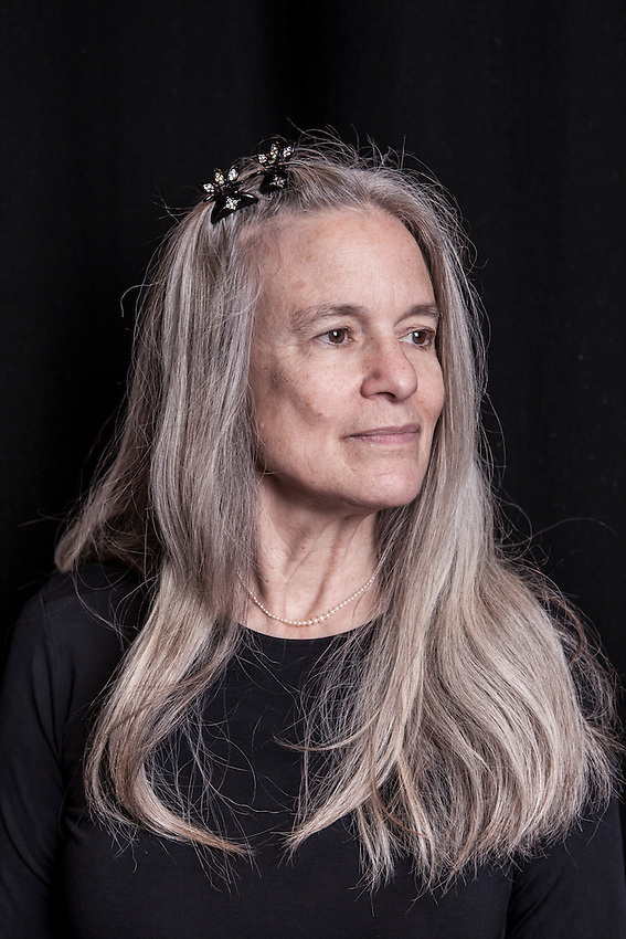 Sharon Olds, American poet, photographed at the Royal Festival Hall. Olds has been shortlisted several times for the TS Eliot Prize for her poems.