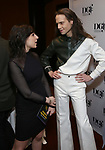 Ruthie Fierberg and Jordan Roth attends the 2019 DGF Madge Evans And Sidney Kingsley Awards at The Lambs Club on March 18, 2019 in New York City.