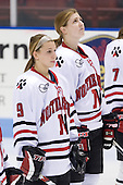 Casie Fields (NU - 9), ? -  - The Northeastern University Huskies defeated the Union College Dutchwomen 4-1 on Saturday, October 3, 2009, at Matthews Arena in Boston, Massachusetts.