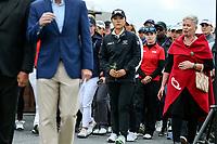 Lydia Ko. Welcome powhiri. McKayson NZ Women's Golf Open, first Practice Round, Windross Farm Golf Course, Manukau, Auckland, New Zealand, Monday 25 September 2017.  Photo: Simon Watts/www.bwmedia.co.nz