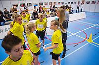 December 17, 2014, Rotterdam, Topsport Centrum, Ballkid selection, ABNAMROWTT<br /> Photo: Tennisimages/Henk Koster
