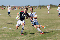 Lakewood Ranch, FL - Monday, December 1, 2014: U.S. Soccer U-15/16 2014 Development Academy Winter Showcase and Nike International Friendlies at Premier Sports Campus.