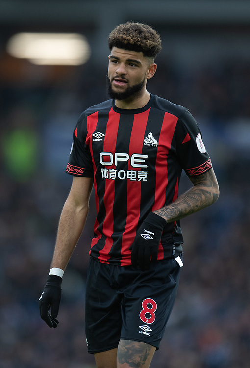 Huddersfield Town's Philip Billing<br /> <br /> Photographer David Horton/CameraSport<br /> <br /> The Premier League - Brighton and Hove Albion v Huddersfield Town - Saturday 2nd March 2019 - The Amex Stadium - Brighton<br /> <br /> World Copyright © 2019 CameraSport. All rights reserved. 43 Linden Ave. Countesthorpe. Leicester. England. LE8 5PG - Tel: +44 (0) 116 277 4147 - admin@camerasport.com - www.camerasport.com