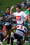 Air New Zealand Cup rugby game between the Counties Manukau Steelers & Manawatu Turbos, played at Growers Stadium Pukekohe on Staurday September 20th 2008..Counties Manukau won 27 - 14 after trailing 14 - 7 at halftime.