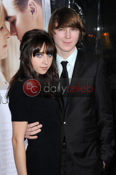 Zoe Kazan and Paul Dano <br /> at the World Premiere of 'Revolutionary Road'. Mann Village Theater, Westwood, CA. 12-15-08<br /> Dave Edwards/DailyCeleb.com 818-249-4998