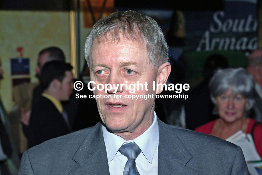 Sean Farren, SDLP, member, N Ireland Assembly, Minister for Third Level Education, Training and Employment, 2000110891<br />