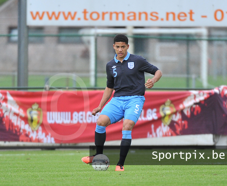 Belgium U19 - England U19 : Tyias Browning.foto DAVID CATRY / Nikonpro.be