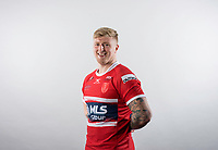 Picture by Allan McKenzie/SWpix.com - 10/01/18 - Rugby League - Super League - Hull KR Media Day 2018 - KCOM Lightstream Stadium, Craven Park, Hull, England - Danny Addy.