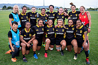 Wellington women. 2018 Central Regional Sevens at Playford Park in Levin, New Zealand on Saturday, 1 December 2018. Photo: Dave Lintott / lintottphoto.co.nz