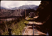 RGS Goose#3 stopped for rocks on track on Keystone Hill.<br /> RGS  Keystone Hill, CO  Taken by Maxwell, John W. - 7/13/1946
