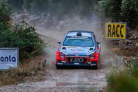 Thierry Neuville/Nicolas Gilsoul (Hyundai i20 WRC) during the World Rally Car RACC Catalunya Costa Dourada 2016 / Rally Spain, in Catalunya, Spain. October 15, 2016. (ALTERPHOTOS/Rodrigo Jimenez) NORTEPHOTO.COM