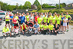 Clanmaurice FC Fun Run: Participants who took part in the fun run in aid of Clanmaurice FC pictured prior to the run at the Railway Bar, Lixnaw on Saturday last.