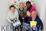 Tralee International Resource Centre Marking 15yrs of direct provision in Ireland.The media group launch a short video made by local Asylum Seekers living in Tralee on the affects of direct provision systems in Ireland pictured Malgorzata Szczodrowska, Paul Abraham,Tina Diggin, Bimpe Obadina and Derek O'Halloran