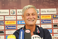 28.08.2013: Eintracht Frankfurt Europa League PK und Training