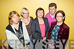Pictured at the launch of the Mental Wellness Exhibition which is taking place in the Brandon hotel, Tralee, on Sunday October 21st from 10am-7pm and Monday October 22nd from 10am-3pm, were l-r: Breda Joy, Joan Courtney, Deirdre Fee, Donal Clifford and Mai Harris..