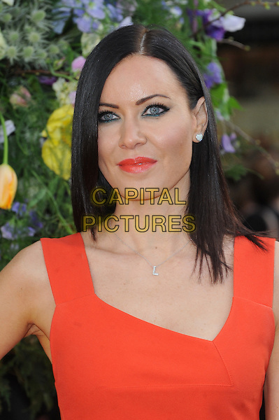 LONDON, ENGLAND - APRIL 13: Linzi Stoppard attends the UK Premiere of A Little Chaos at Kensington Odeon on April 13, 2015 in London, England.<br /> CAP/BEL<br /> &copy;BEL/Capital Pictures
