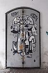 2020-02-16 Kraków. Graffiti na ul. Józefa na Krakowskim Kazimierzu.