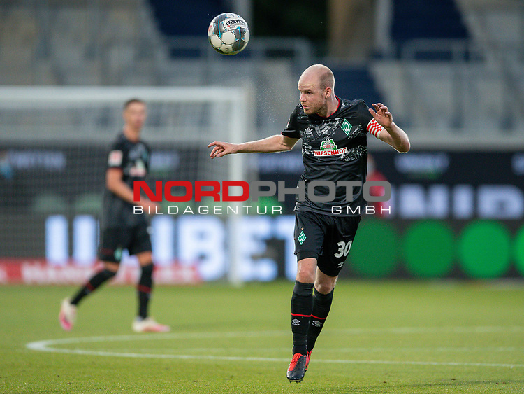 Davy Klaassen (SV Werder Bremen, #30),<br /> <br /> GER, FC Heidenheim vs. Werder Bremen, Fussball, Bundesliga Religation, 2019/2020, 06.07.2020,<br /> <br /> DFB/DFL regulations prohibit any use of photographs as image sequences and/or quasi-video., <br /> <br /> <br /> Foto: EIBNER/Sascha Walther/Pool/gumzmedia/nordphoto