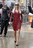 NEW YOKR, NY - May 13: Paris Hilton seen on her way to an appearance on Strahan & Sara in New York City on May 13, 2019   <br /> CAP/MPI/RW<br /> ©RW/MPI/Capital Pictures