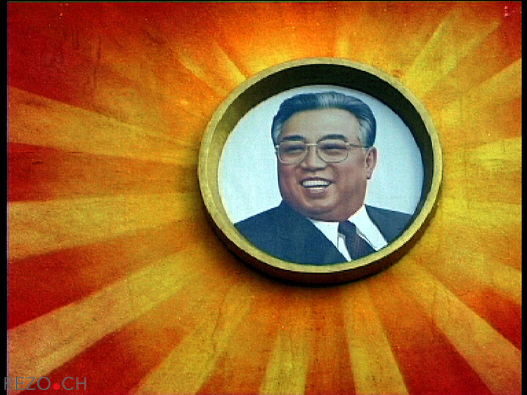 NR00091/kim Il Sung the Great Leader, avril 2000
