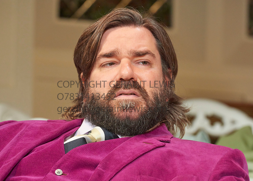 The Philanthropist by Christopher Hampton, directed by Simon Callow. With Matt Berry as Braham. Opens at The Trafalgar Studios Theatre on 14/3/18