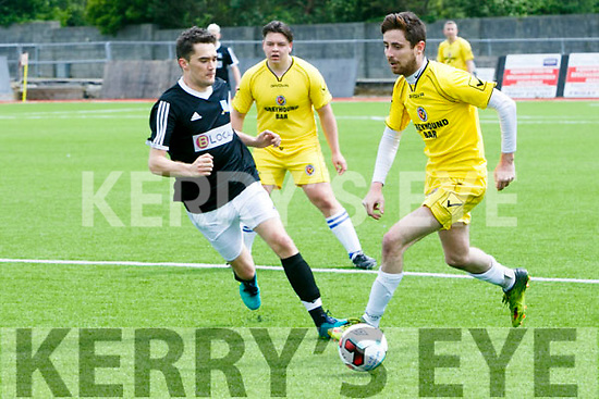 Classic's Brendan Sweeney at the Dominos Pizza Reserve Cup 2nd Round  Windmill United v Classic FC at Mounthawk Park on Sunday