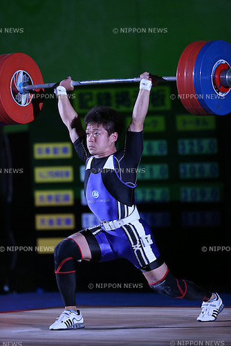 Masakazu Ioroi, <br /> MAY 21, 2016 - Weightlifting : <br /> All Japan Weightlifting Championship 2016 Men's -69kg <br /> at Yamanashi Municipal Gymnasium, Yamanashi, Japan. <br /> (Photo by AFLO SPORT)