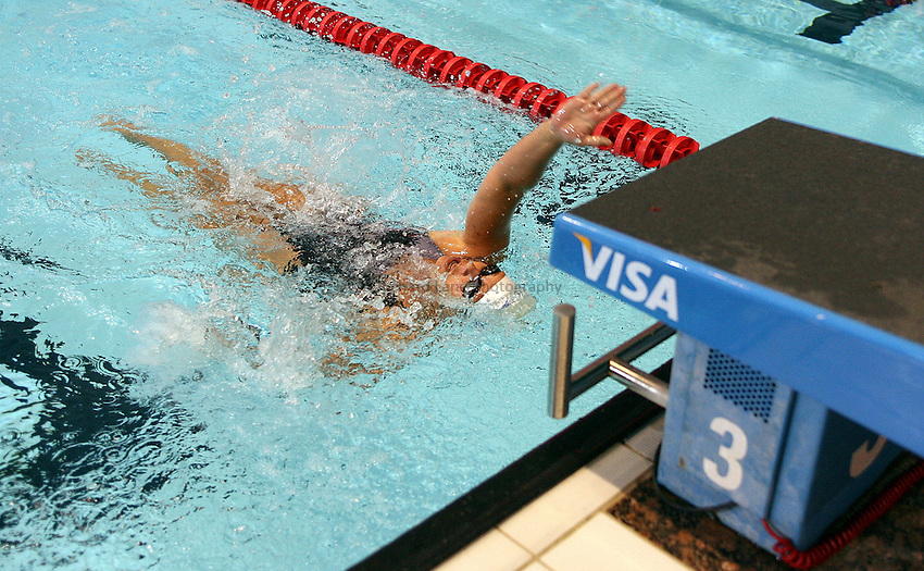 Photo: Paul Thomas..VISA Paralympic World Cup 2007. Swimming. 12/05/2007...Mirjam De Koning of Holland.