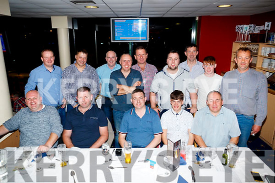 Andrew Kelly, The Spa, Tralee, who celebrated his stag night with family and friends at the  Kingdom Greyhound Stadium, Tralee on Saturday night last.