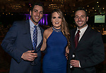 Joey Awwad, Shalise Barnetche and Brady Jones during the Big Chefs, Big Gala event at the Grand Sierra Resort in Reno on April 8, 2017.