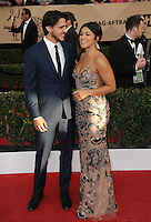 www.acepixs.com<br /> <br /> January 29 2017, LA<br /> <br /> Gina Rodriguez arriving at the 23rd Annual Screen Actors Guild Awards at The Shrine Expo Hall on January 29, 2017 in Los Angeles, California<br /> <br /> By Line: Peter West/ACE Pictures<br /> <br /> <br /> ACE Pictures Inc<br /> Tel: 6467670430<br /> Email: info@acepixs.com<br /> www.acepixs.com
