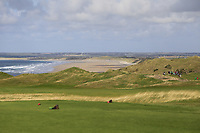 A view from the 1st tee looking up Banna Strand during the Munster Final of the AIG Senior Cup at Tralee Golf Club, Tralee, Co Kerry. 12/08/2017<br /> Picture: Golffile | Thos Caffrey<br /> <br /> <br /> All photo usage must carry mandatory copyright credit     (&copy; Golffile | Thos Caffrey)